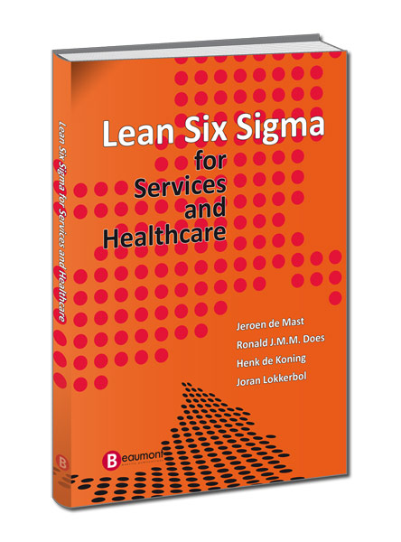 Cover Lean Six Sigma - For Services and Healthcare